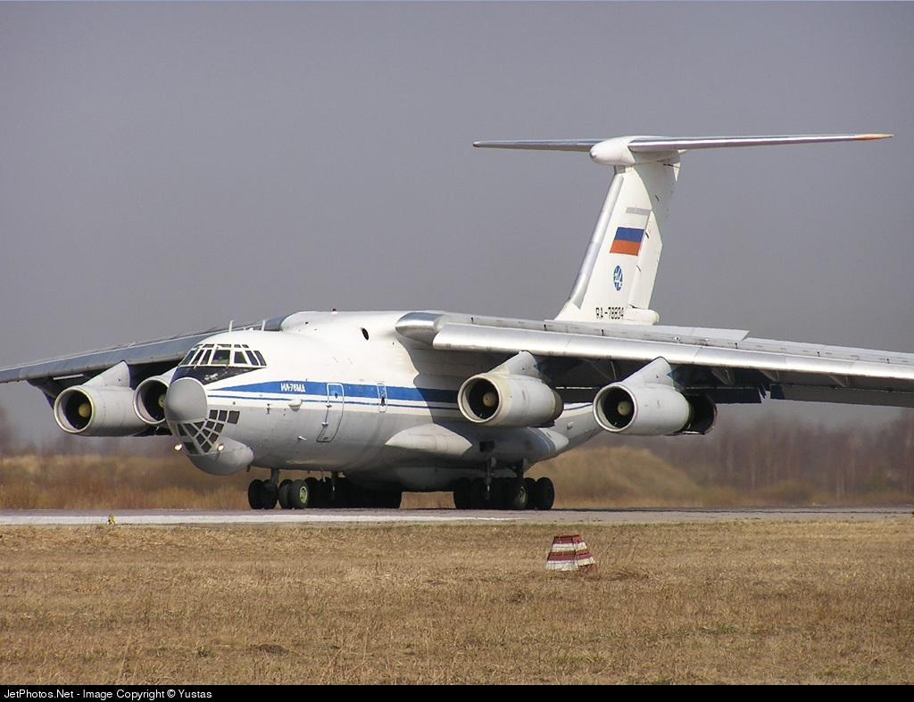 RA-78834 - Ilyushin IL-76MD - Russia - Air Force