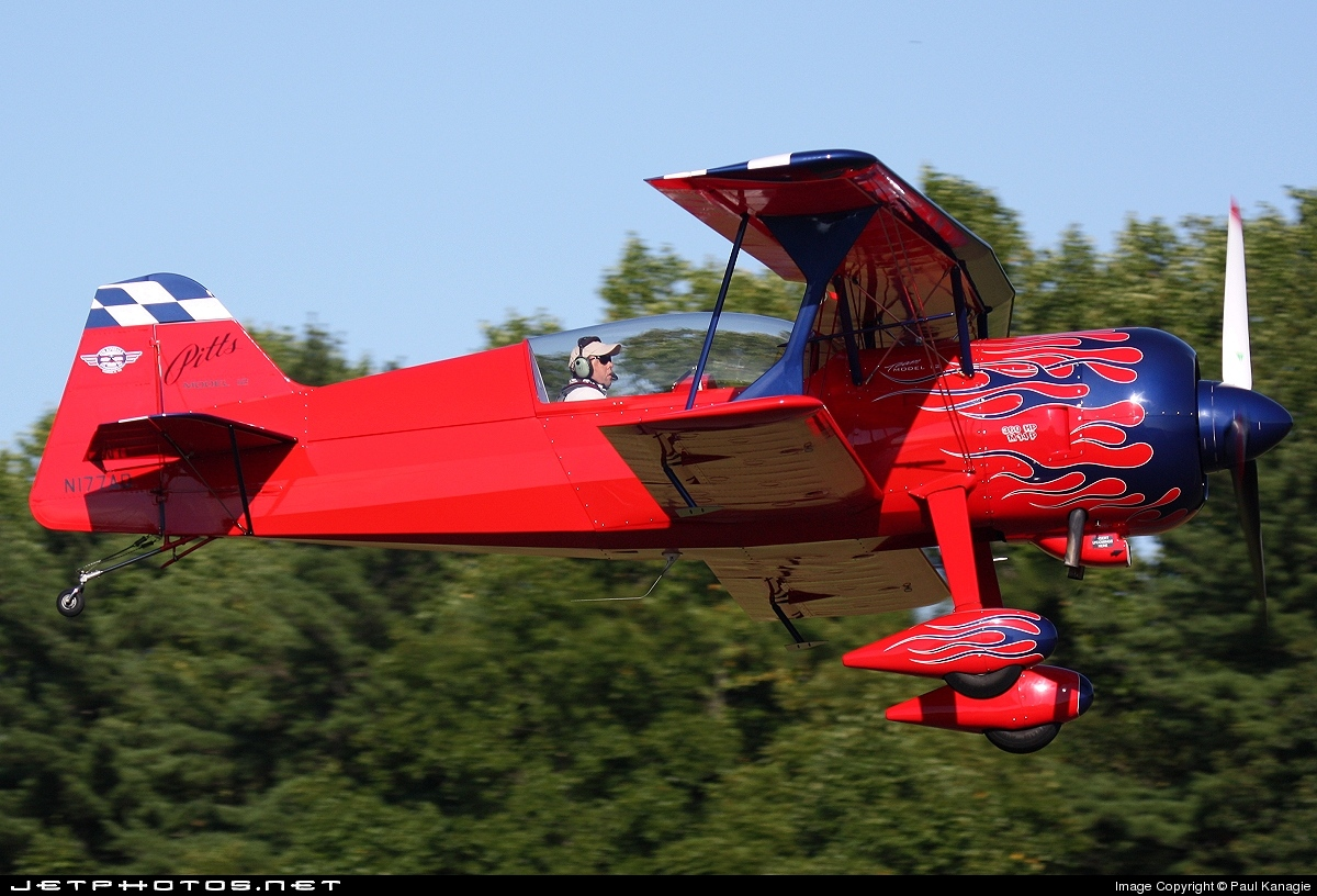N177AD - Pitts 12S - Private
