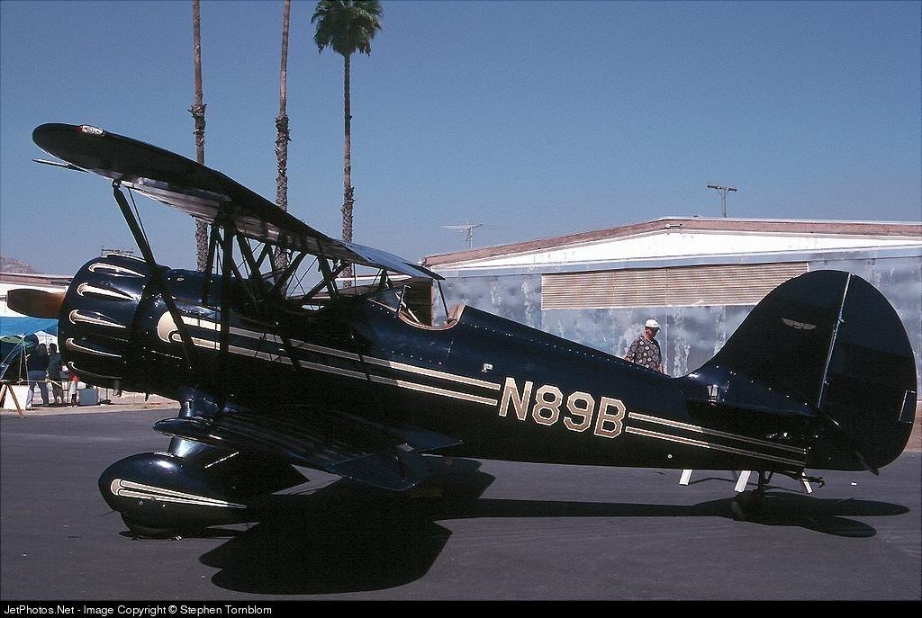 N89B - Waco YMF - Private