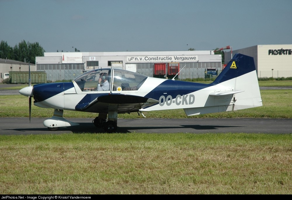 OO-CKD - Robin R2112 Alpha - Private