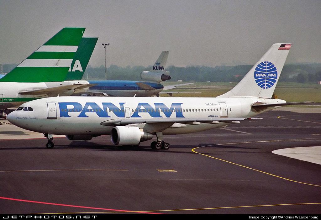 N805PA - Airbus A310-222 - Pan Am