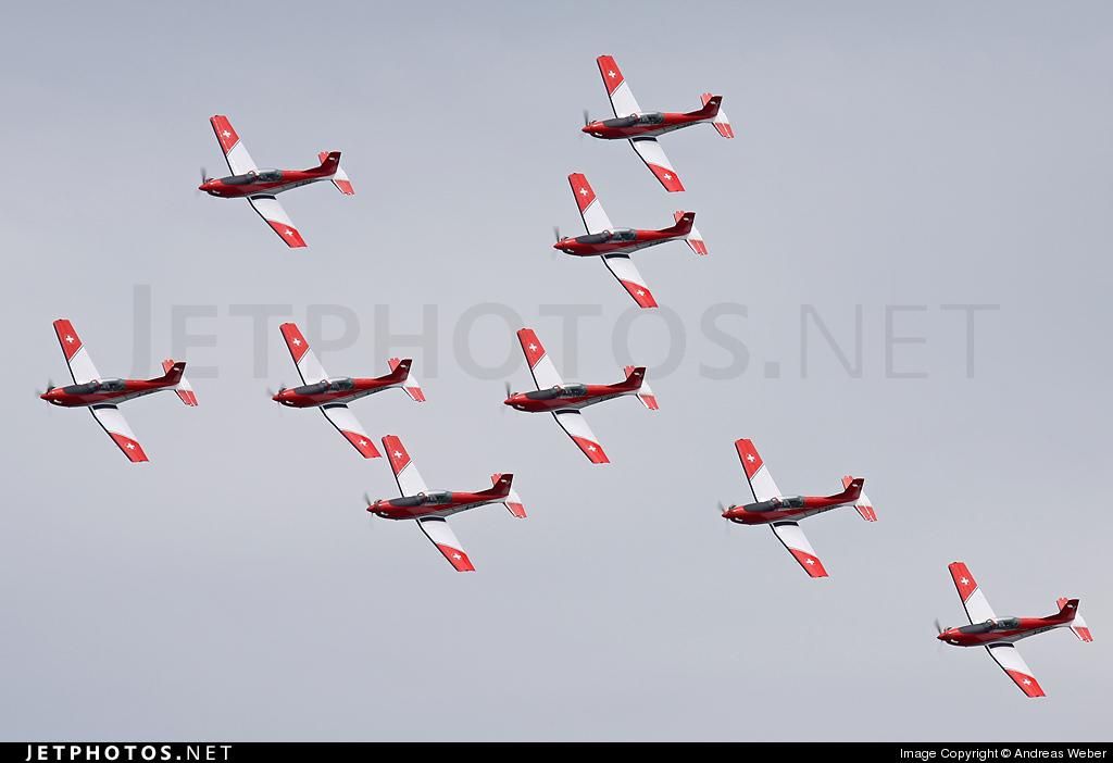A-934 - Pilatus PC-7 - Switzerland - Air Force
