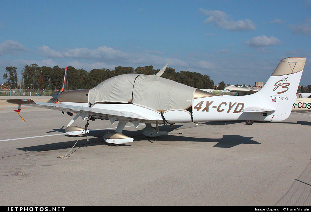 4X-CYD - Cirrus SR22-G3 - Private