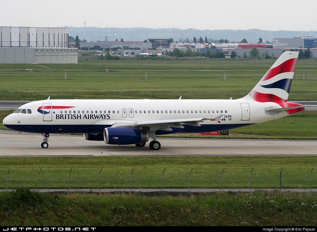 F-WWIN - Airbus A320-232 - British Airways