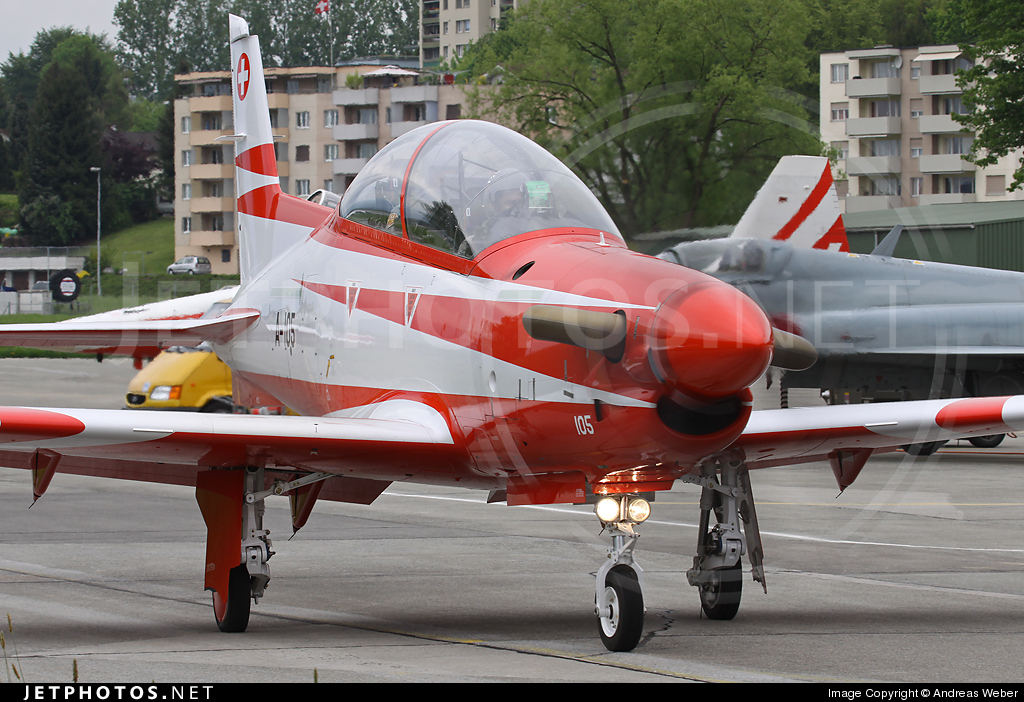 A-105 - Pilatus PC-21 - Switzerland - Air Force