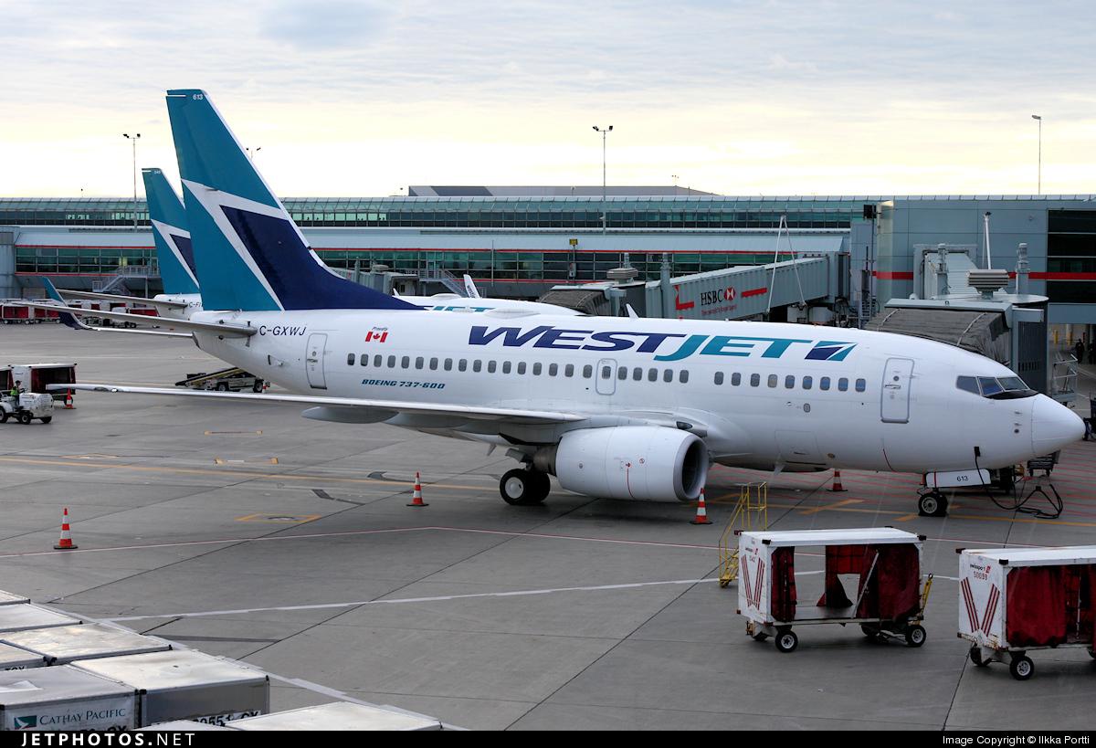 C-GXWJ - Boeing 737-6CT - WestJet Airlines