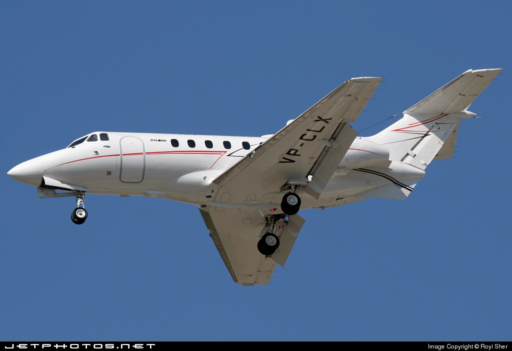 VP-CLX - Hawker Siddeley HS-125 - Lukoil-Avia