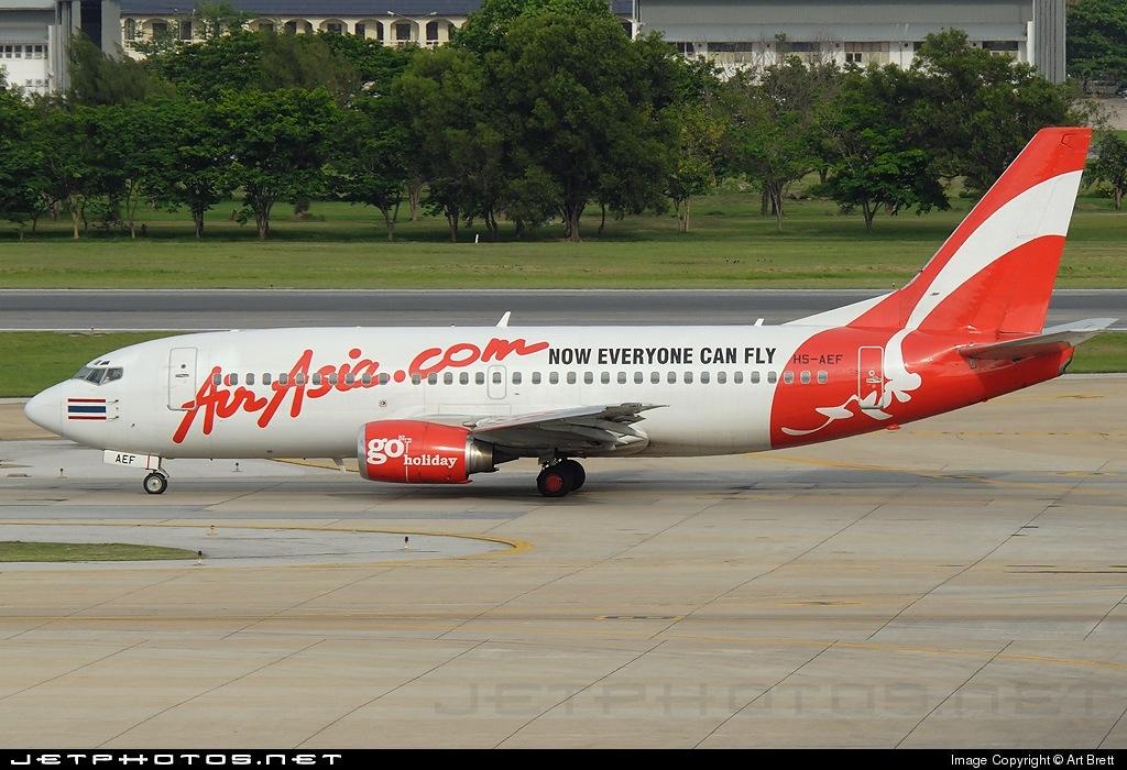 HS-AEF - Boeing 737-301 - Thai AirAsia
