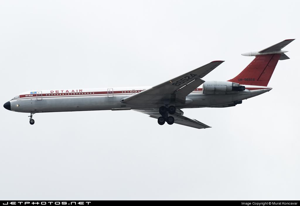UN-86524 - Ilyushin IL-62M - Deta Air
