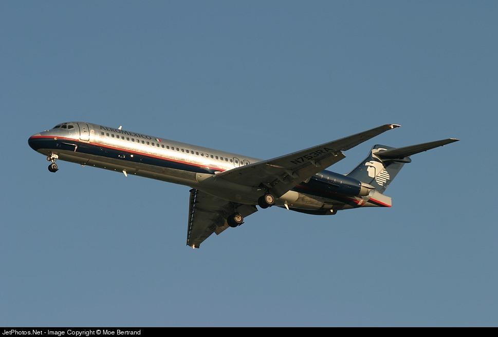 N753RA - McDonnell Douglas MD-87 - Aeroméxico