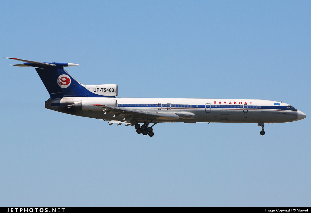 UP-T5403 - Tupolev Tu-154M - Sayakhat Airlines
