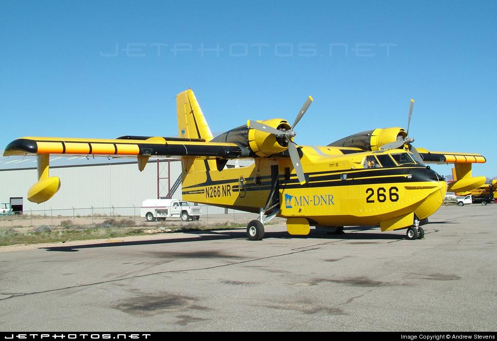 N266NR - Canadair CL-215 Waterbomber - AeroFlite