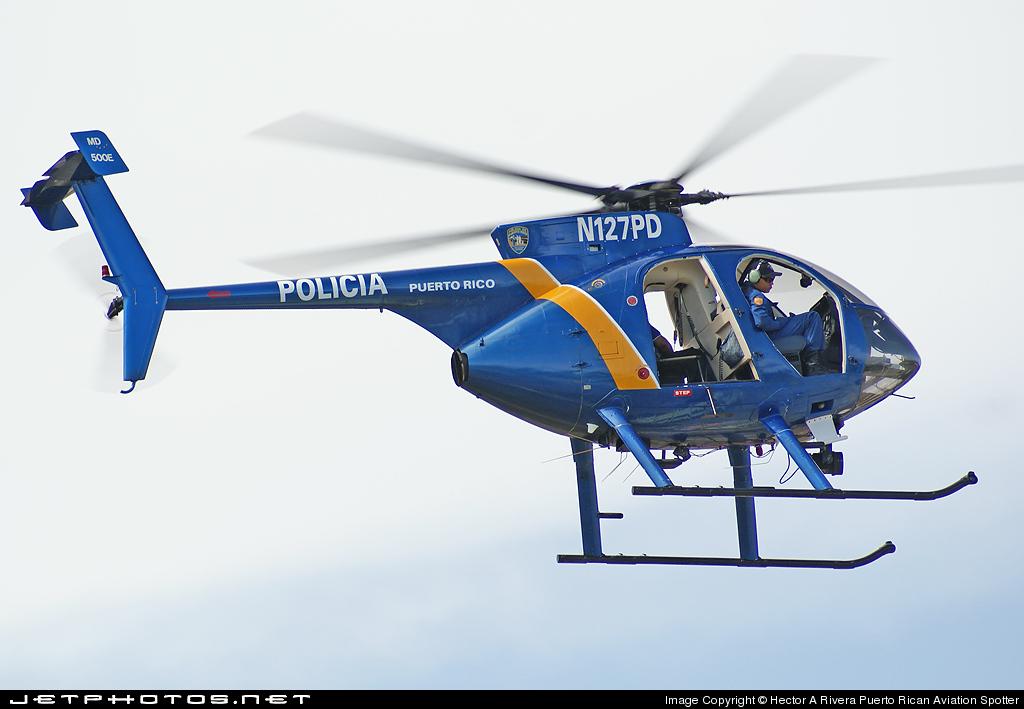 N127PD - McDonnell Douglas MD-500E - Puerto Rico - Police