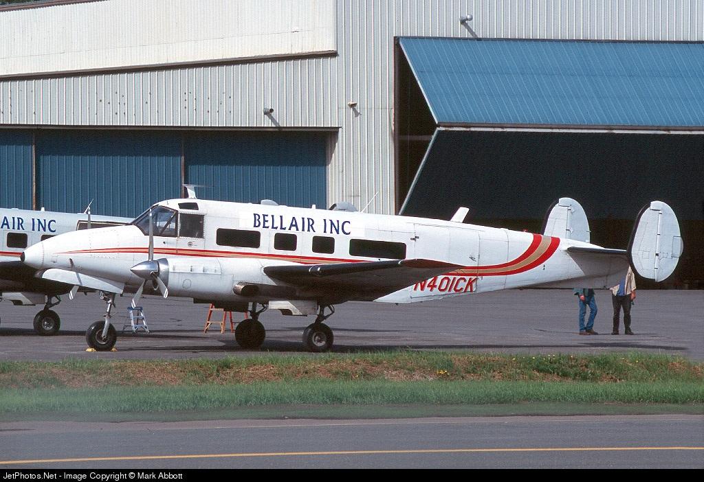 N401CK - Beech C-45H Expeditor - Bellair