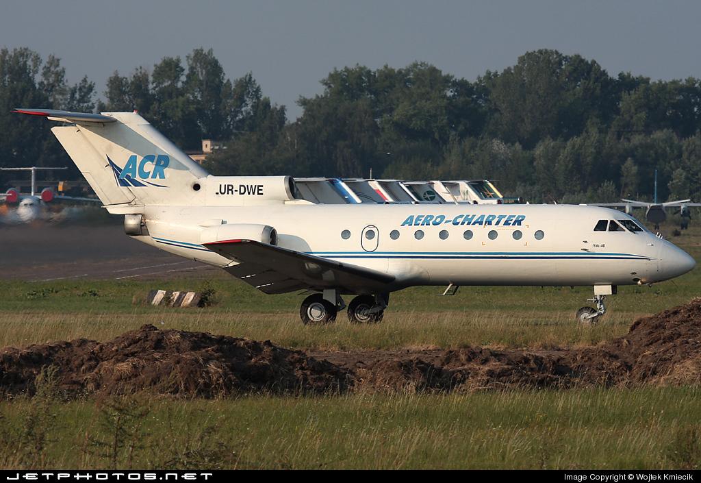 UR-DWE - Yakovlev Yak-40 - Aero-Charter Ukraine