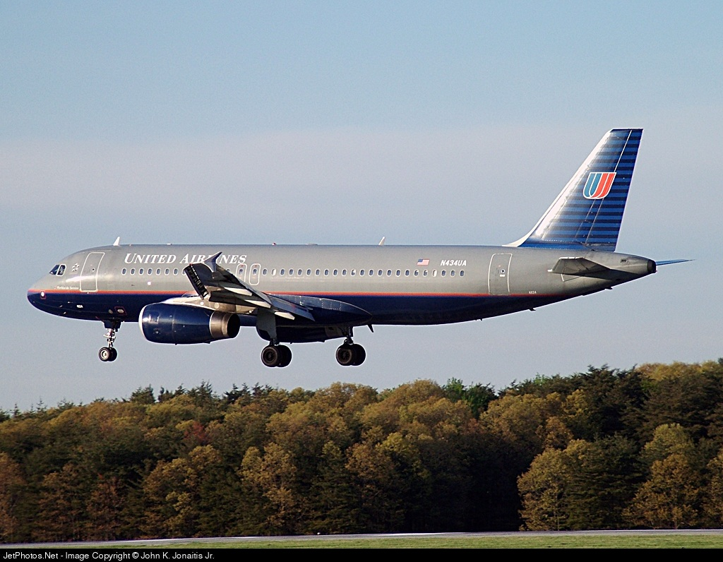 N434UA - Airbus A320-232 - United Airlines