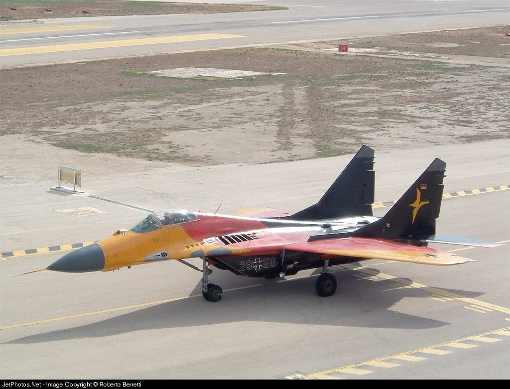 29-20 - Mikoyan-Gurevich MiG-29 Fulcrum - Germany - Air Force