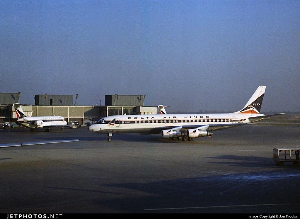 N803E - Douglas DC-8-51 - Delta Air Lines