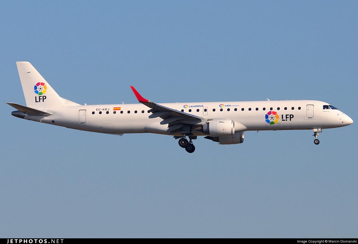 EC-KRJ - Embraer 190-200LR - Air Europa