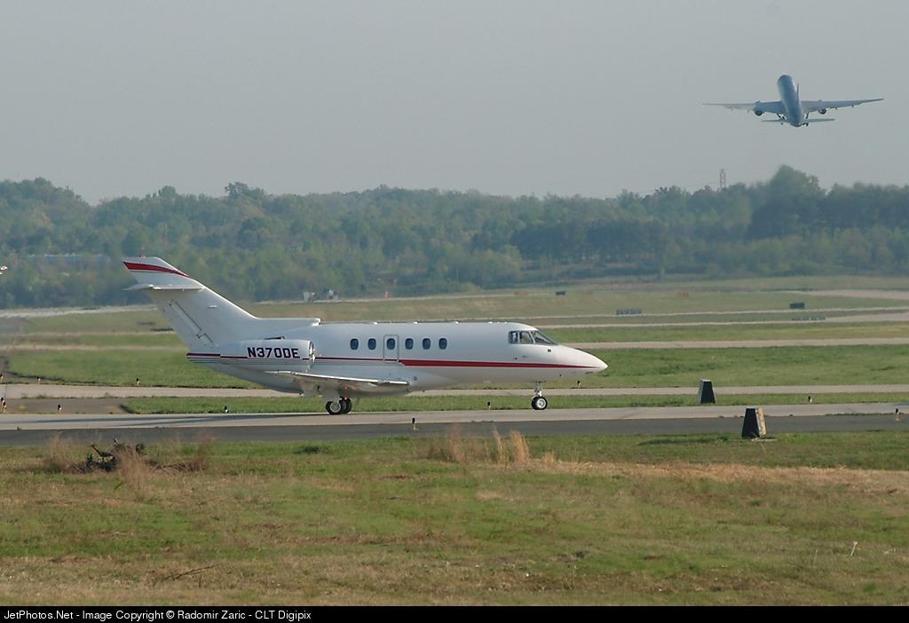 N370DE - Raytheon Hawker 800XP - Private