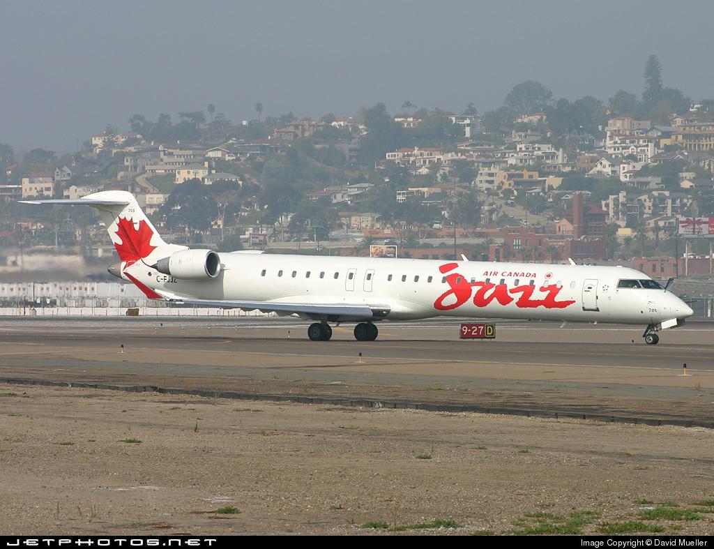C-FJJZ - Bombardier CRJ-705LR - Air Canada Jazz
