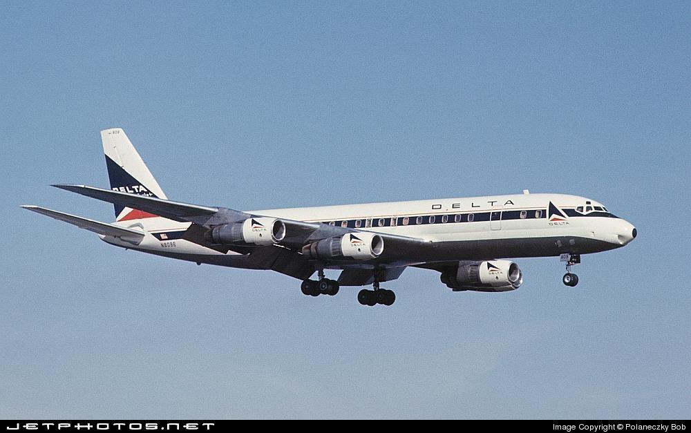 N809E - Douglas DC-8-51 - Delta Air Lines