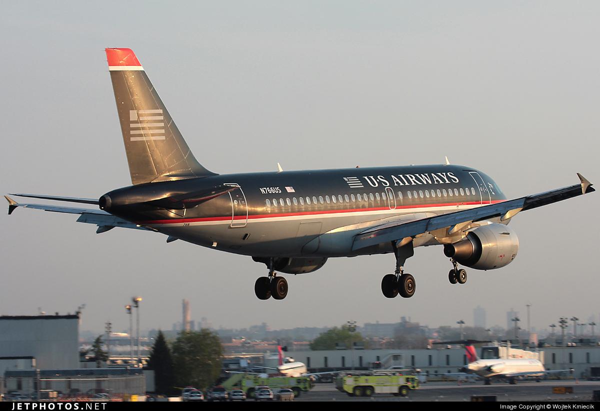 N766US - Airbus A319-112 - US Airways