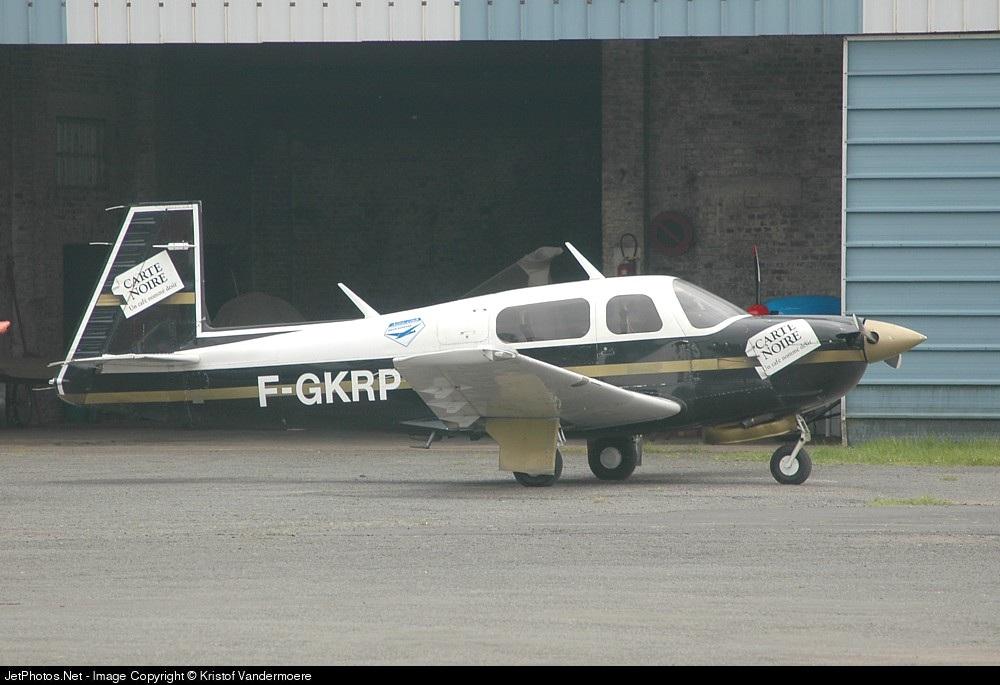 F-GKRP - Mooney M.20J Model 205 - Aero Club - Union Aérienne Lille Roubaix Tourcoing (UALRT)