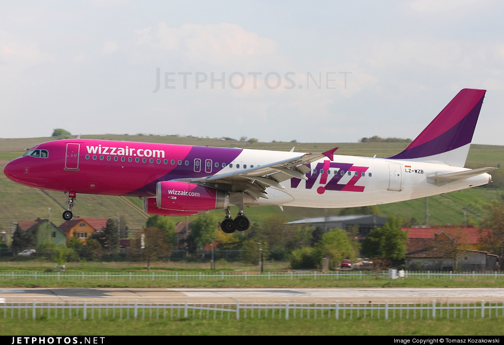 LZ-WZB - Airbus A320-232 - Wizz Air Bulgaria Airlines