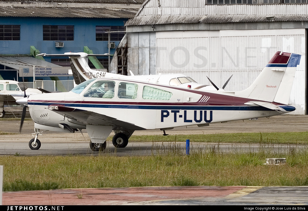 PT-LUU - Beechcraft F33A Bonanza - Private