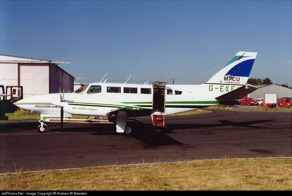 G-EXEX - Cessna 404 Titan - Air Atlantique