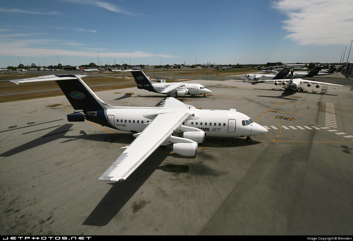 VH-YAE - British Aerospace BAe 146-200A - National Jet Systems (NJS)