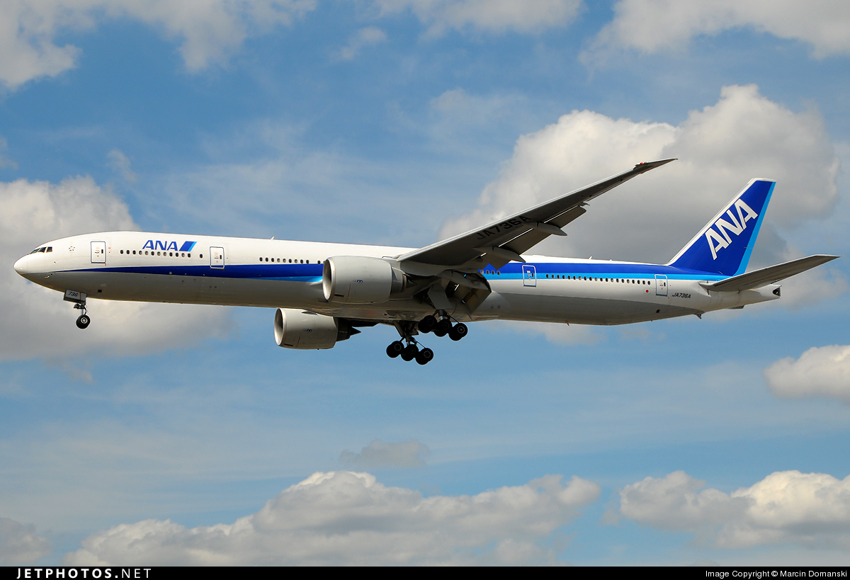 JA736A - Boeing 777-381ER - All Nippon Airways (ANA)