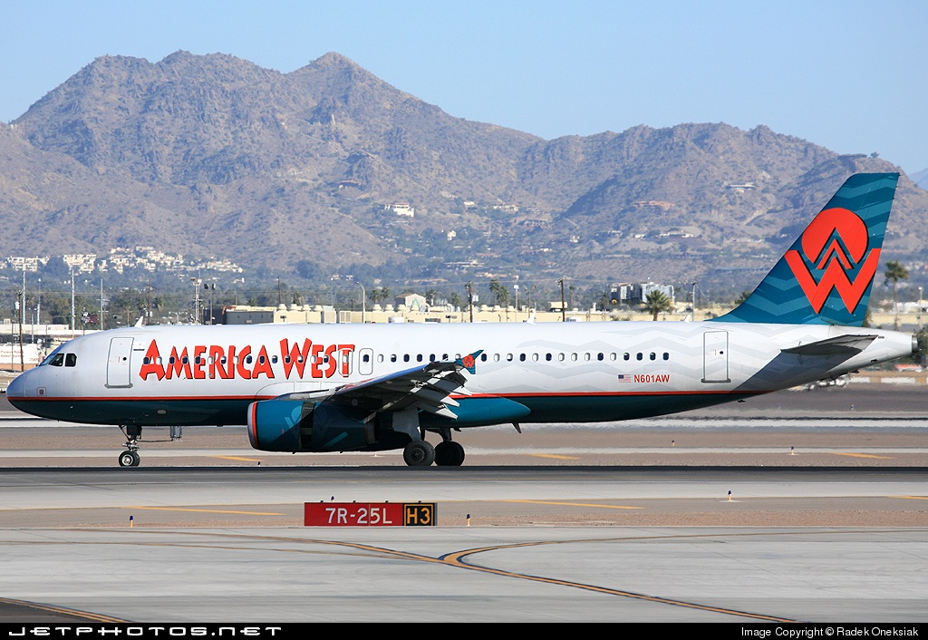 N601AW - Airbus A320-232 - America West Airlines