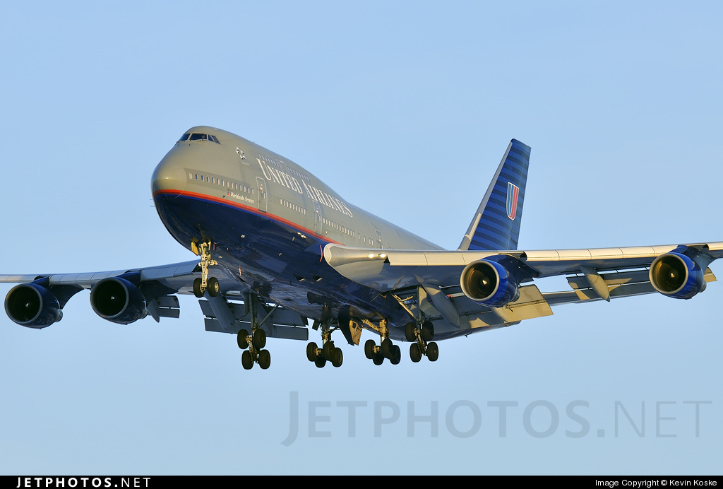N194UA - Boeing 747-422 - United Airlines