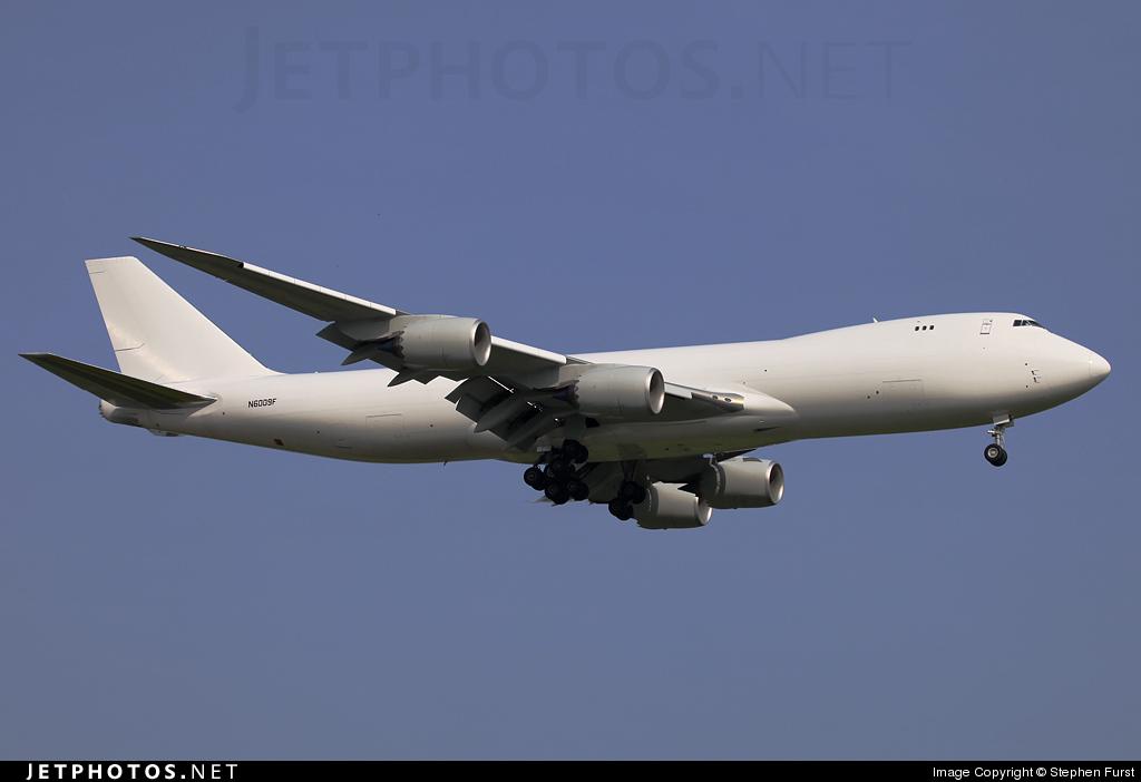 N6009F - Boeing 747-8KZF - Boeing Company