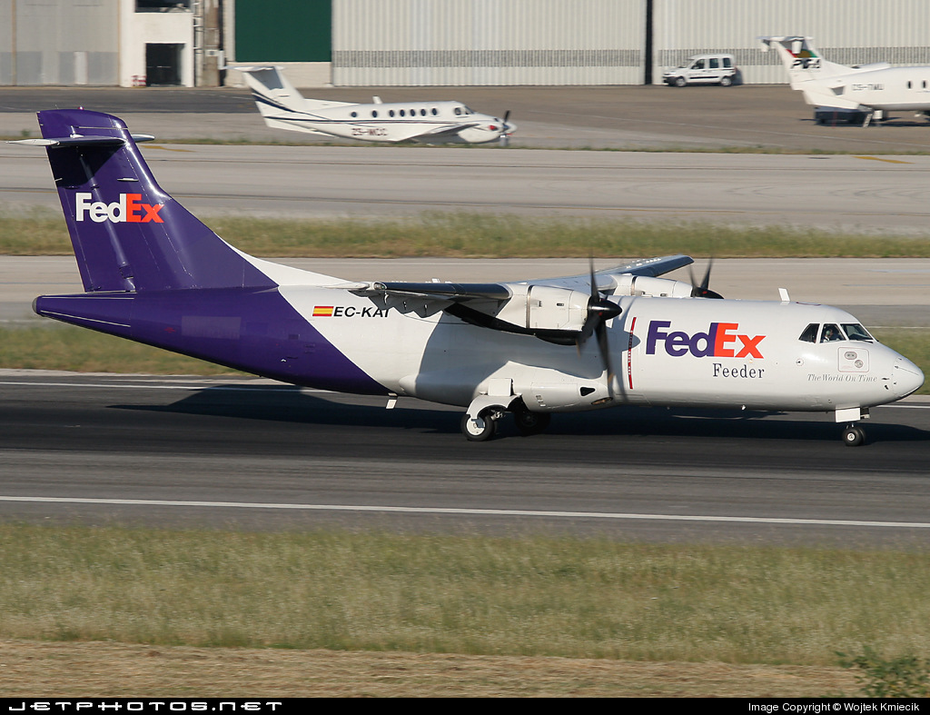 EC-KAI - ATR 42-300(F) - FedEx Feeder (Swiftair)
