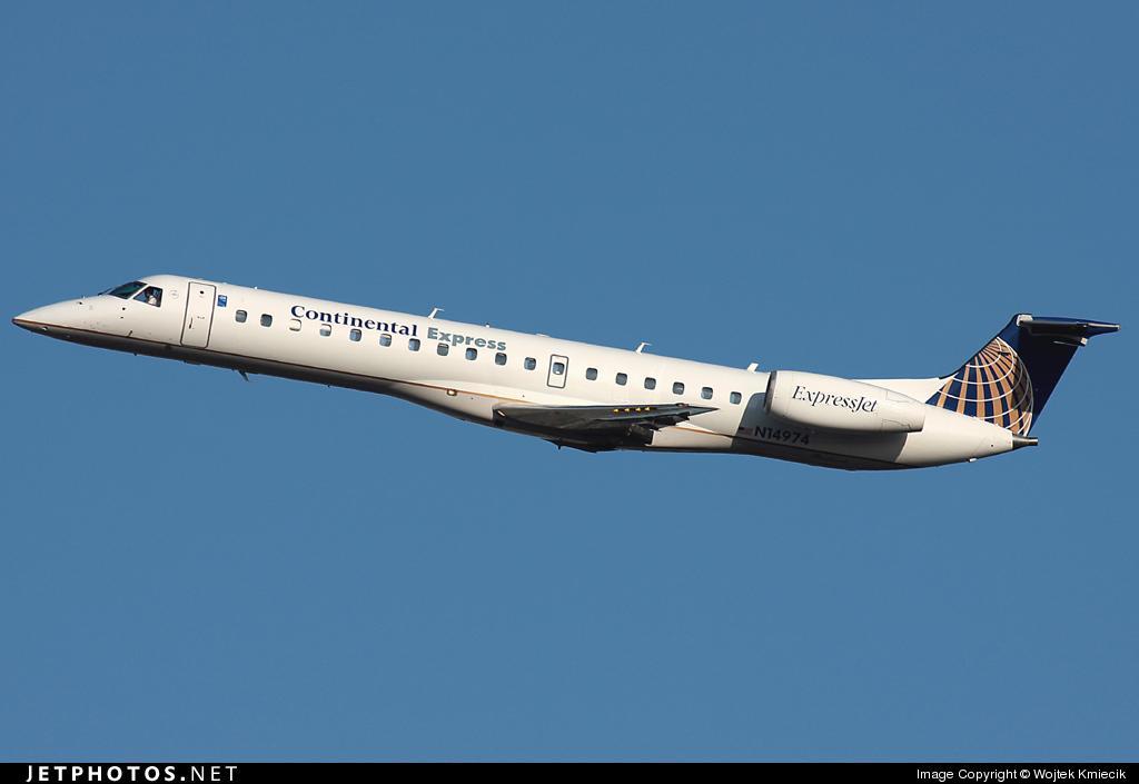 N14974 - Embraer ERJ-145LR - Continental Express (ExpressJet Airlines)