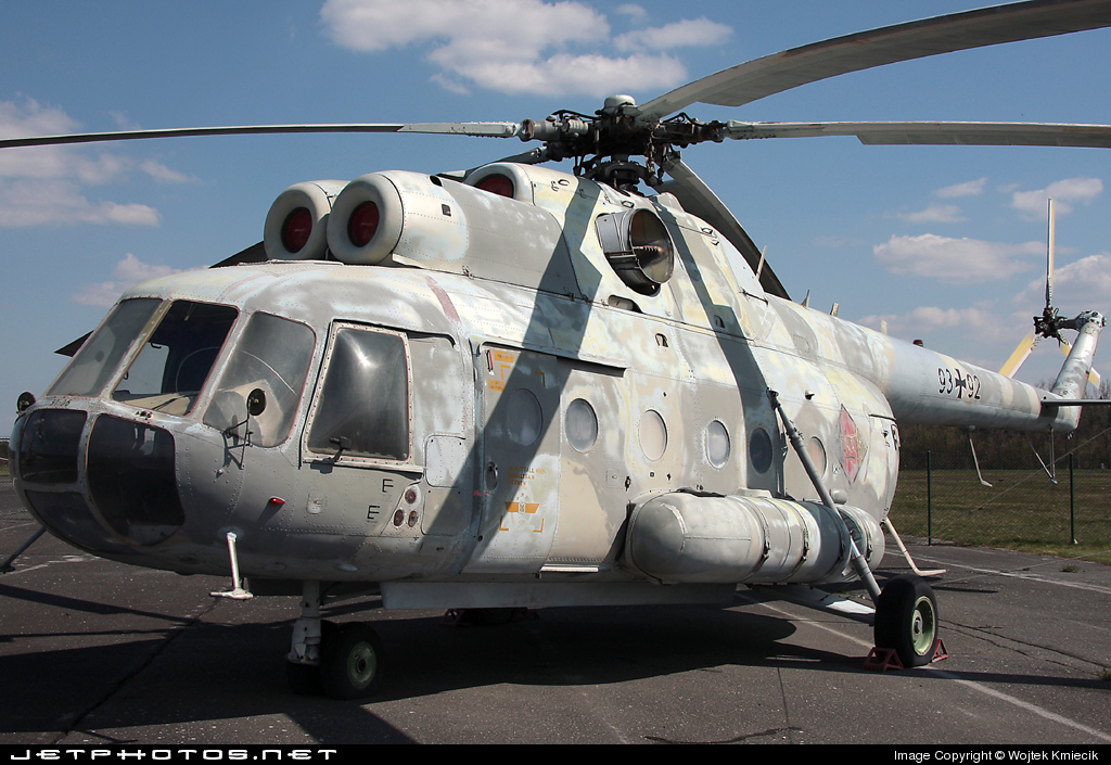 93-92 - Mil Mi-9 Hip G - Germany - Army