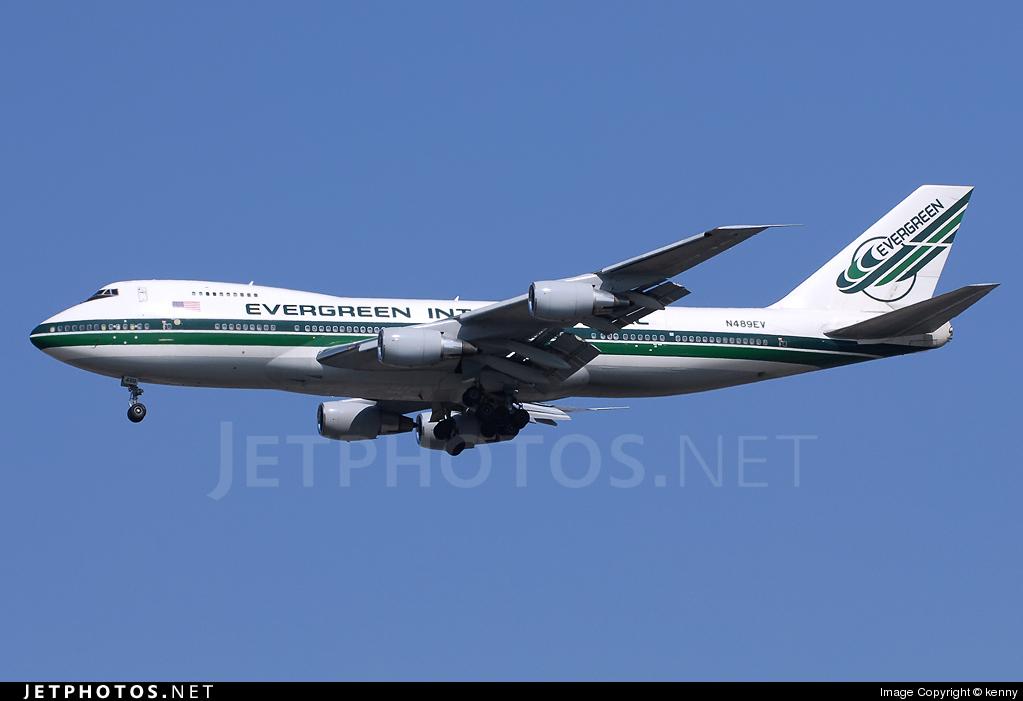 N489EV - Boeing 747-230B(SF) - Evergreen International Airlines