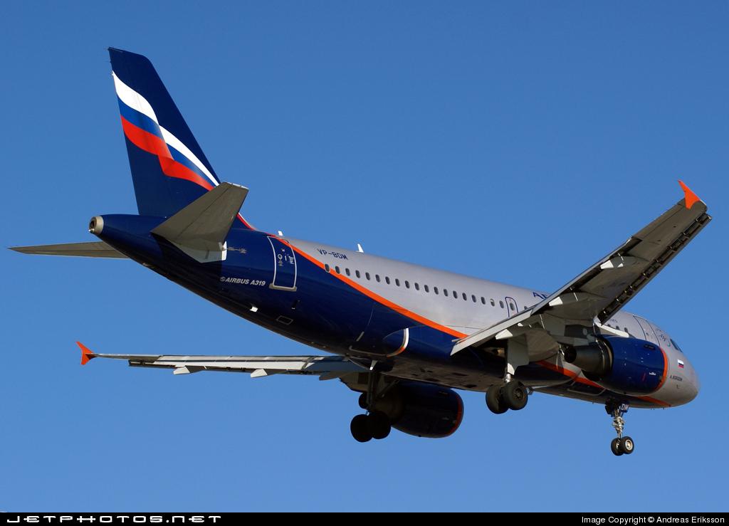 VP-BDM - Airbus A319-111 - Aeroflot