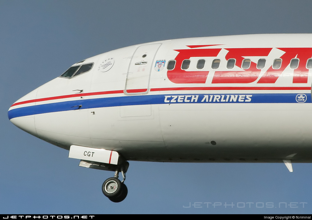 OK-CGT - Boeing 737-46M - CSA Czech Airlines