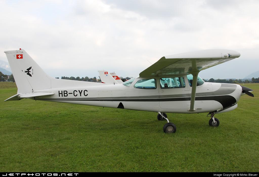 HB-CYC - Cessna 172RG Cutlass RG - Motorfluggruppe Zurich