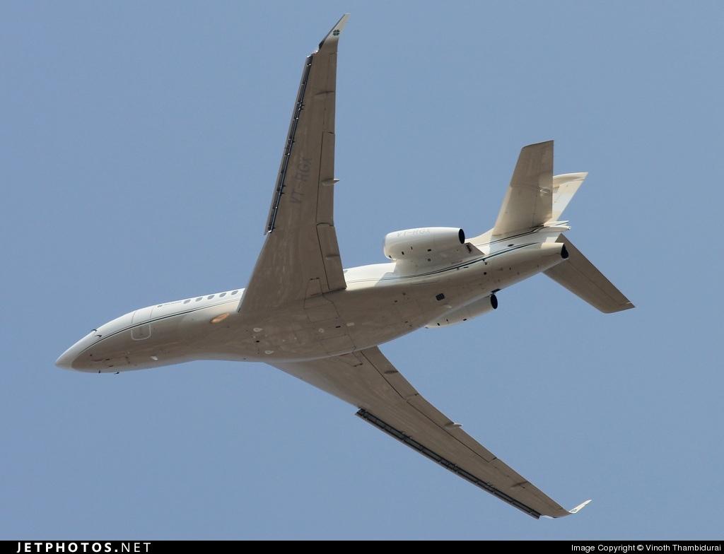 VT-RGX - Dassault Falcon 7X - Religare Aviation