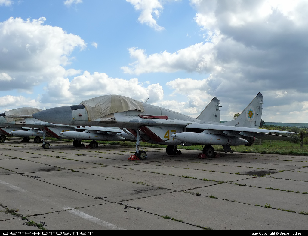 47 - Mikoyan-Gurevich MiG-29S Fulcrum C - Moldova - Air Force