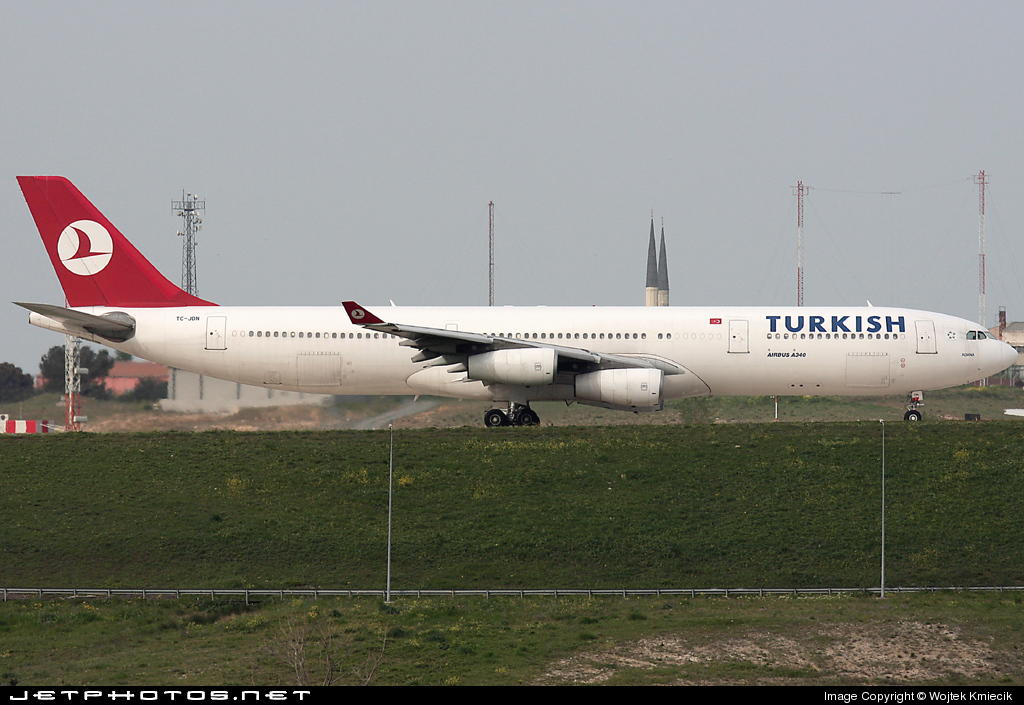 TC-JDN - Airbus A340-313X - Turkish Airlines