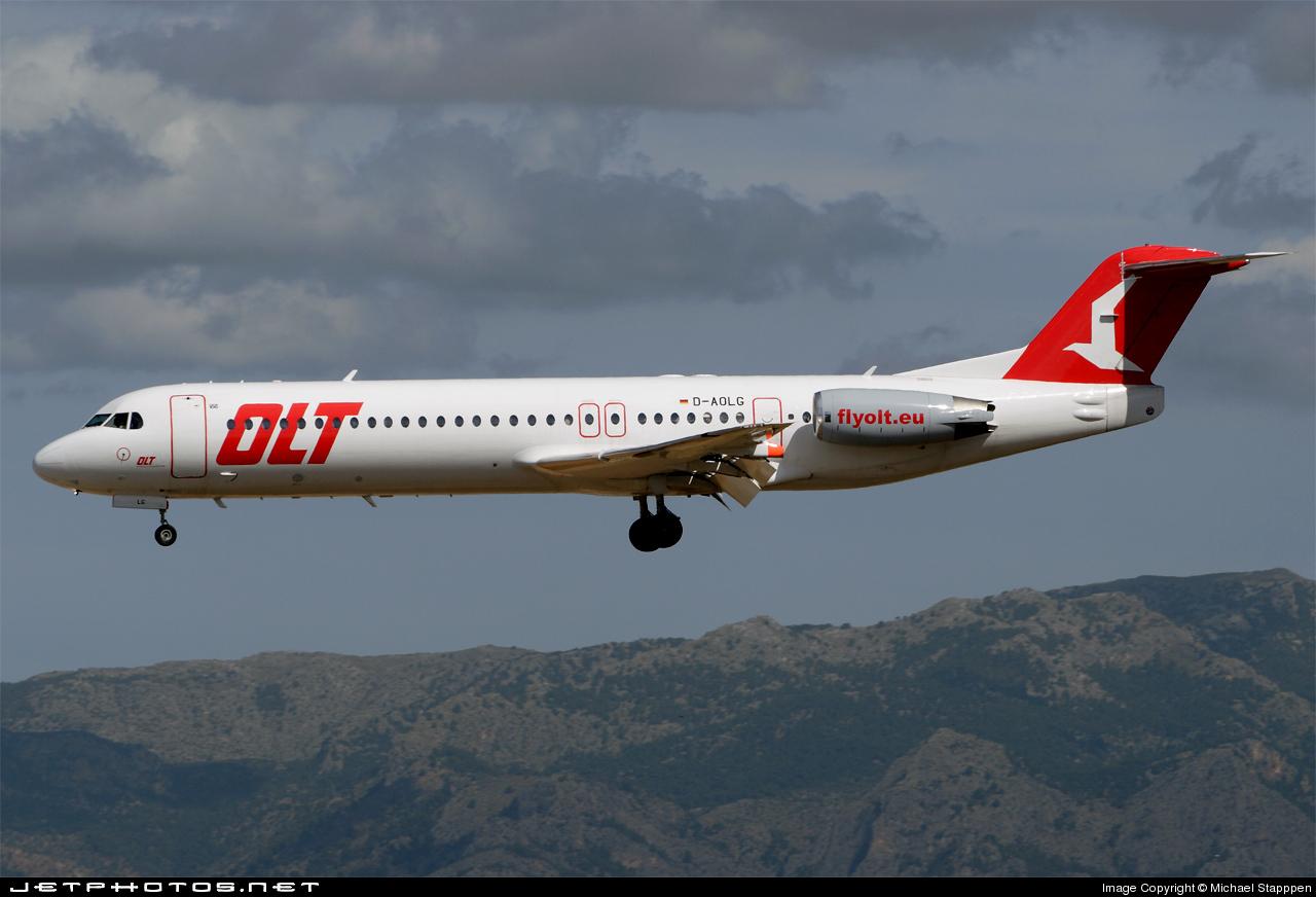 D-AOLG - Fokker 100 - Ostfriesische Lufttransport (OLT)
