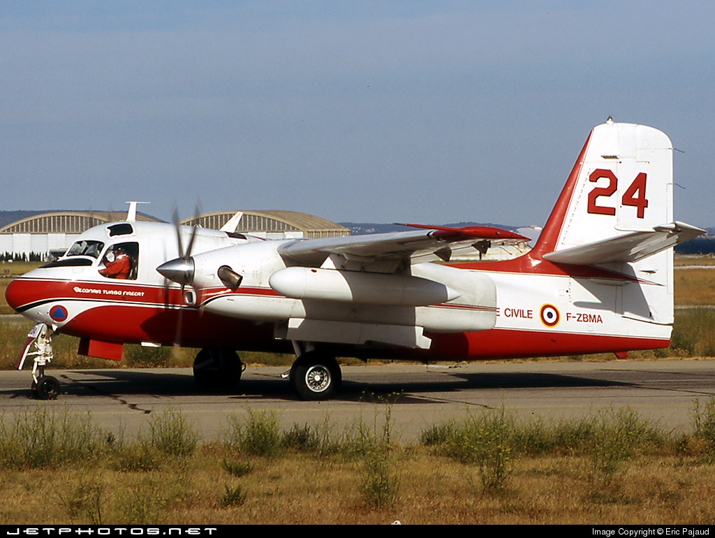 F-ZBMA - Conair S-2 Turbo Firecat - France - Sécurité Civile