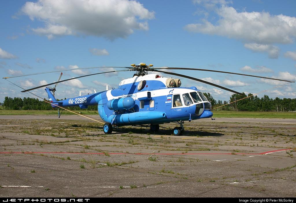 RA-22968 - Mil Mi-8 Hip - Gazpromavia