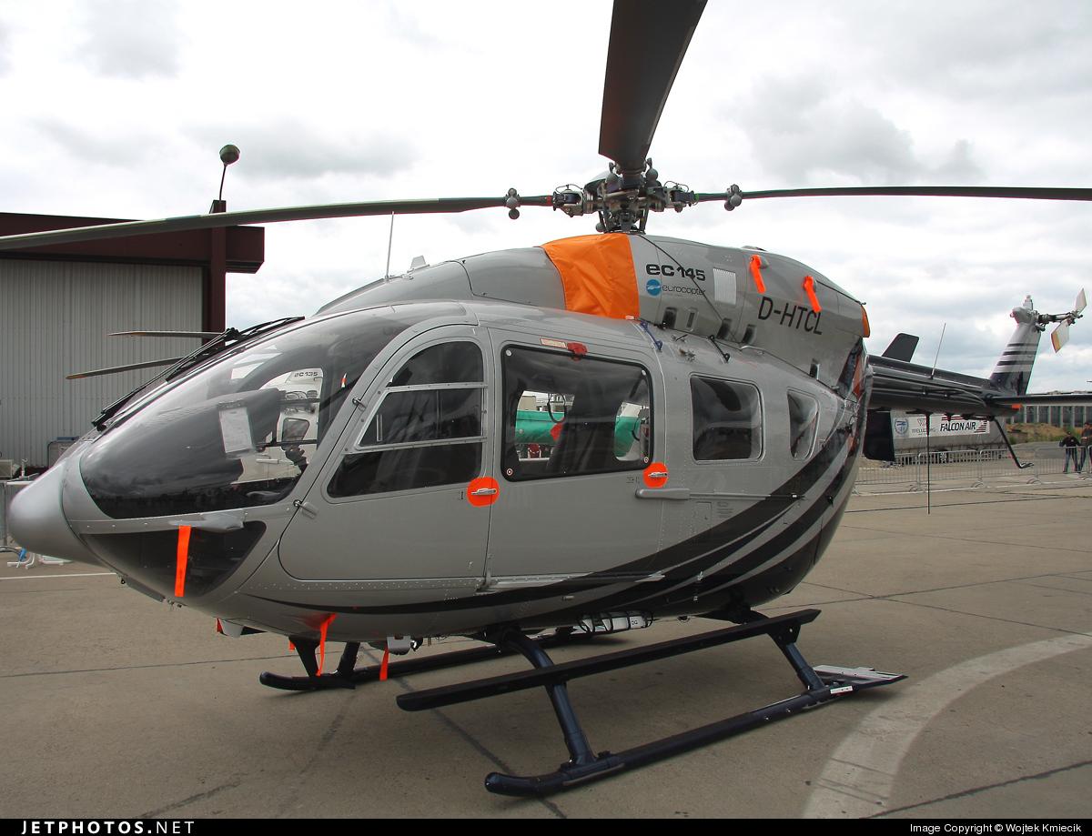 D-HTCL - Eurocopter EC 145 - Helicopter Service Thueringen (HST)
